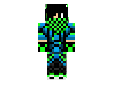 Minecraft Cool Skins for Boys.