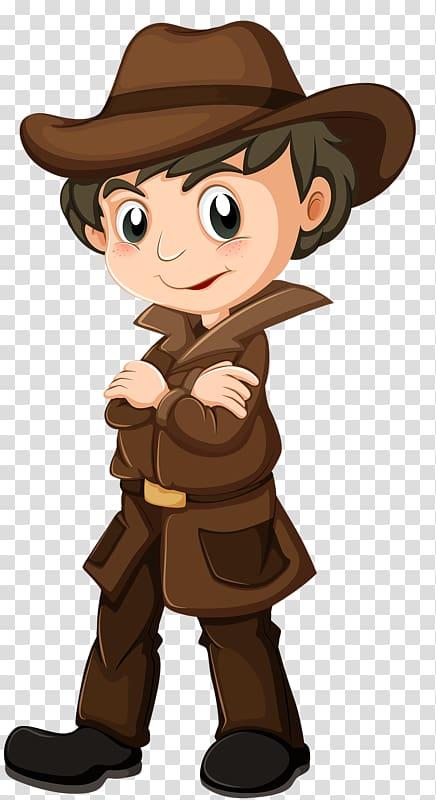 Detective clipart boy, Detective boy Transparent FREE for.
