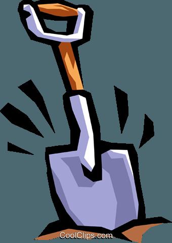 Shovel Digging Clipart.