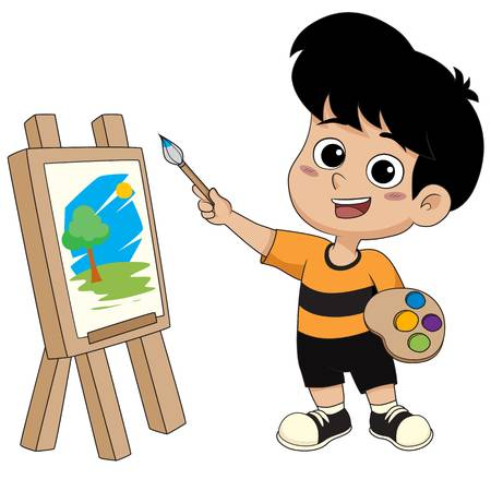 145,240 Boy Drawing Cliparts, Stock Vector And Royalty Free Boy.
