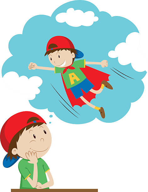 Boy Dreaming Clipart & Free Clip Art Images #14452.