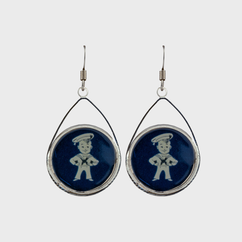 Sailor Boy Earrings.