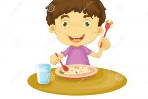 Boy eating dinner clipart 6 » Clipart Portal.