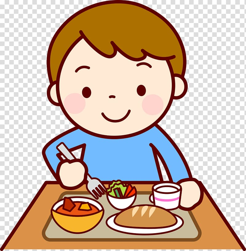 Food Eating Lunch Child , child transparent background PNG clipart.