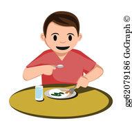 Eat Dinner Clip Art.