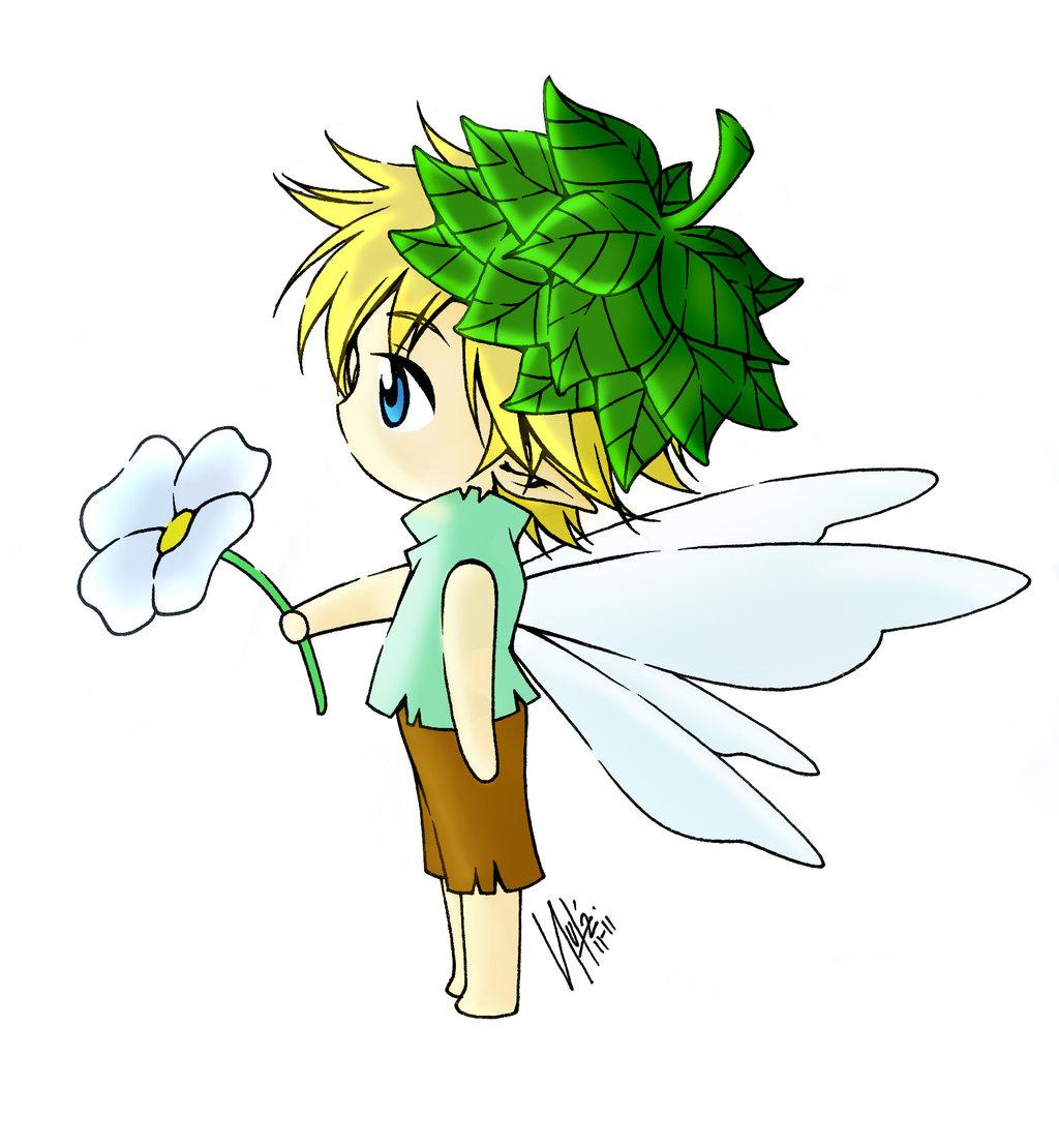 ON SALE Fairy Clipart, Christmas Fairy Boy #181030.