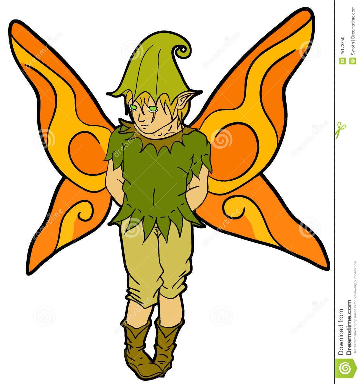 Boy Fairy Clipart.