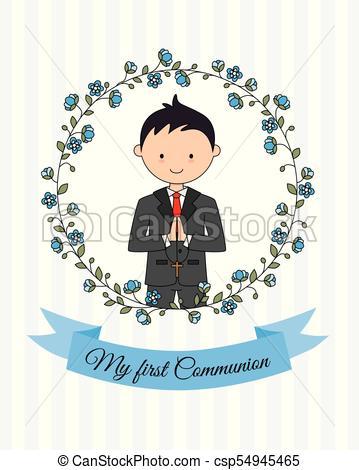 my first communion boy.