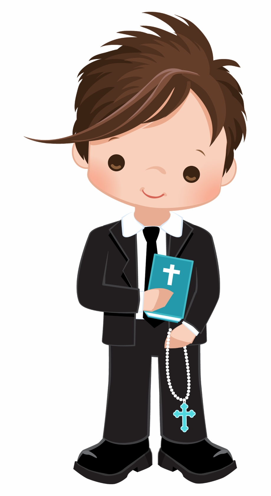 Boy First Communion Clip Art Free PNG Images & Clipart Download.