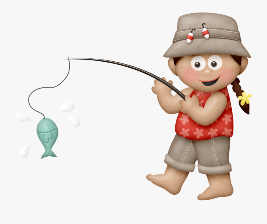 Boy Fishing Clipart , Free Transparent Clipart.