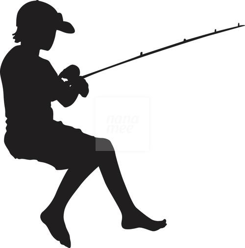 Boy Sitting Fishing Png & Free Boy Sitting Fishing.png Transparent.