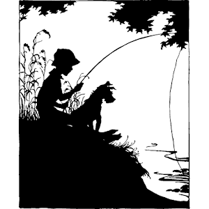 Boy Fishing clipart, cliparts of Boy Fishing free download.