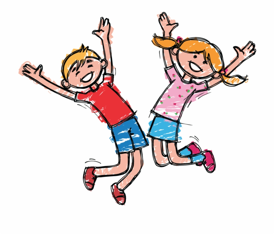 Happy Boy And Girl Clipart The Arts Image Pbs.