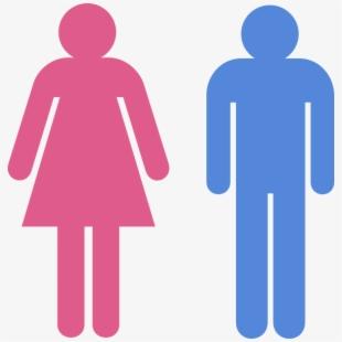 Boy Girl Restroom Signs #1553083.