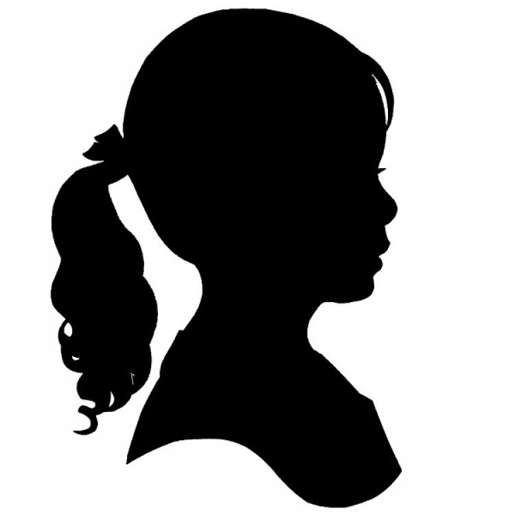 Boy And Girl Silhouette.