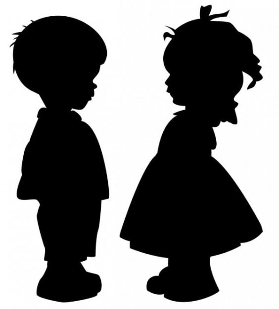 Boy Girl Silhouette Clip Art Jpg Boy Girl Silhouette Clip Art.