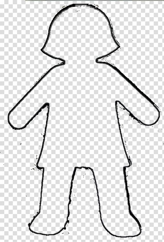 Girl Template Boy Outline , Boy And Girl transparent.