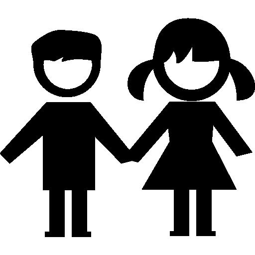 Child care Boy Family Silhouette.