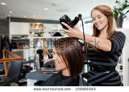 Hair Salon Stock Images, Royalty.