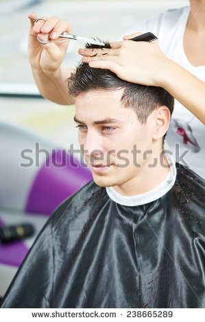 Hair Cut Stock Images, Royalty.