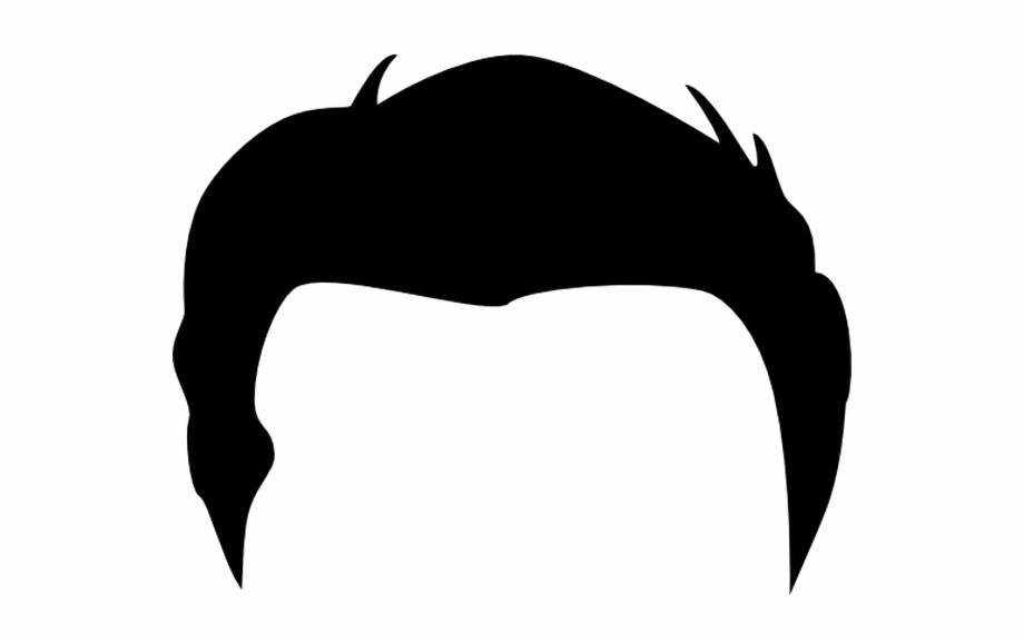 Men Hair Transparent Image.