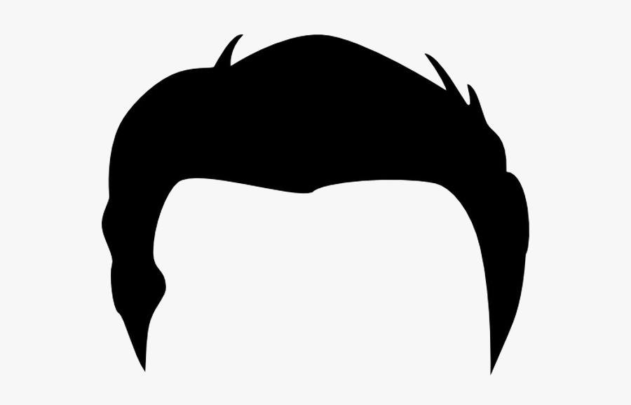 Men Hair Transparent Image Cartoon Boy Hair Png.
