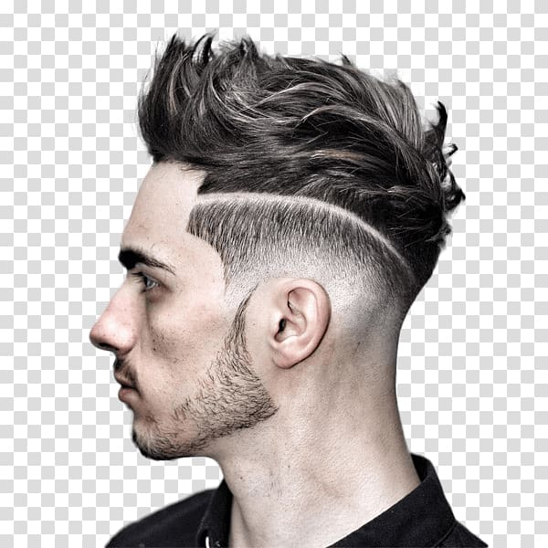 Men\'s haircut illustration, Hairstyle Regular haircut Boy.