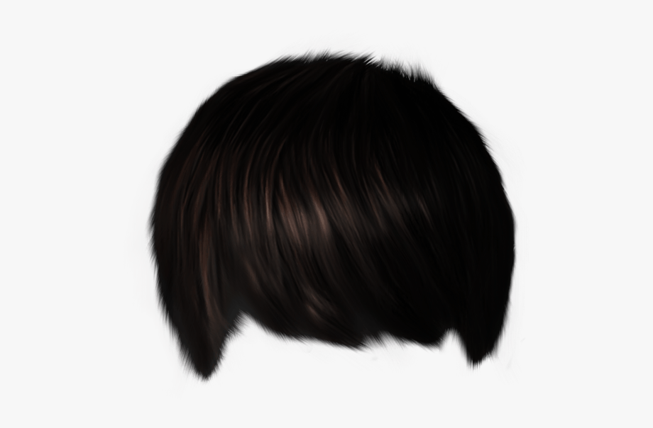 28 Collection Of Black Hair Wig Boy Clipart.