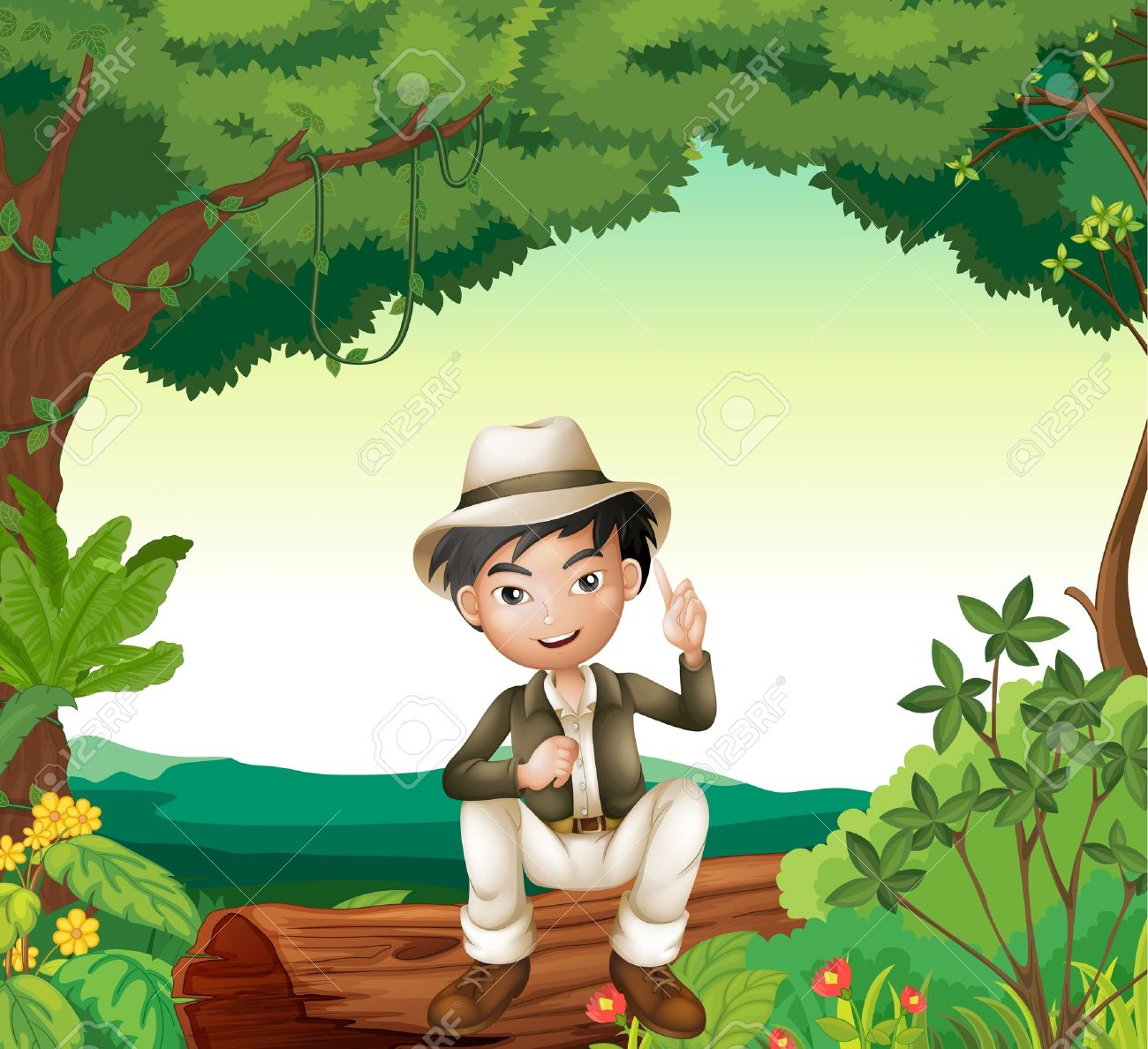 Showing post & media for Cartoon forest boy.