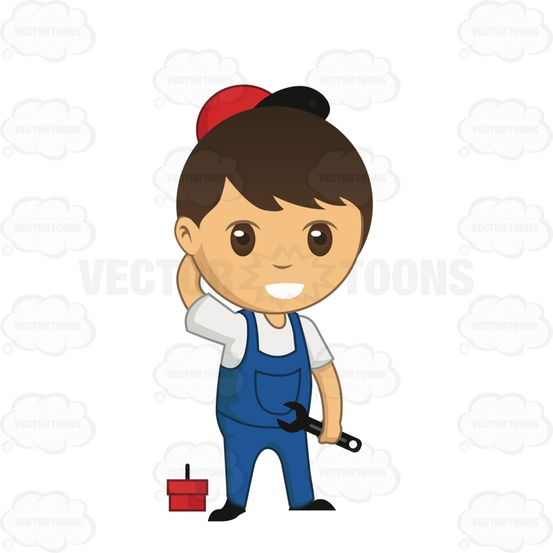 Showing post & media for Cartoon boy wearing overalls.