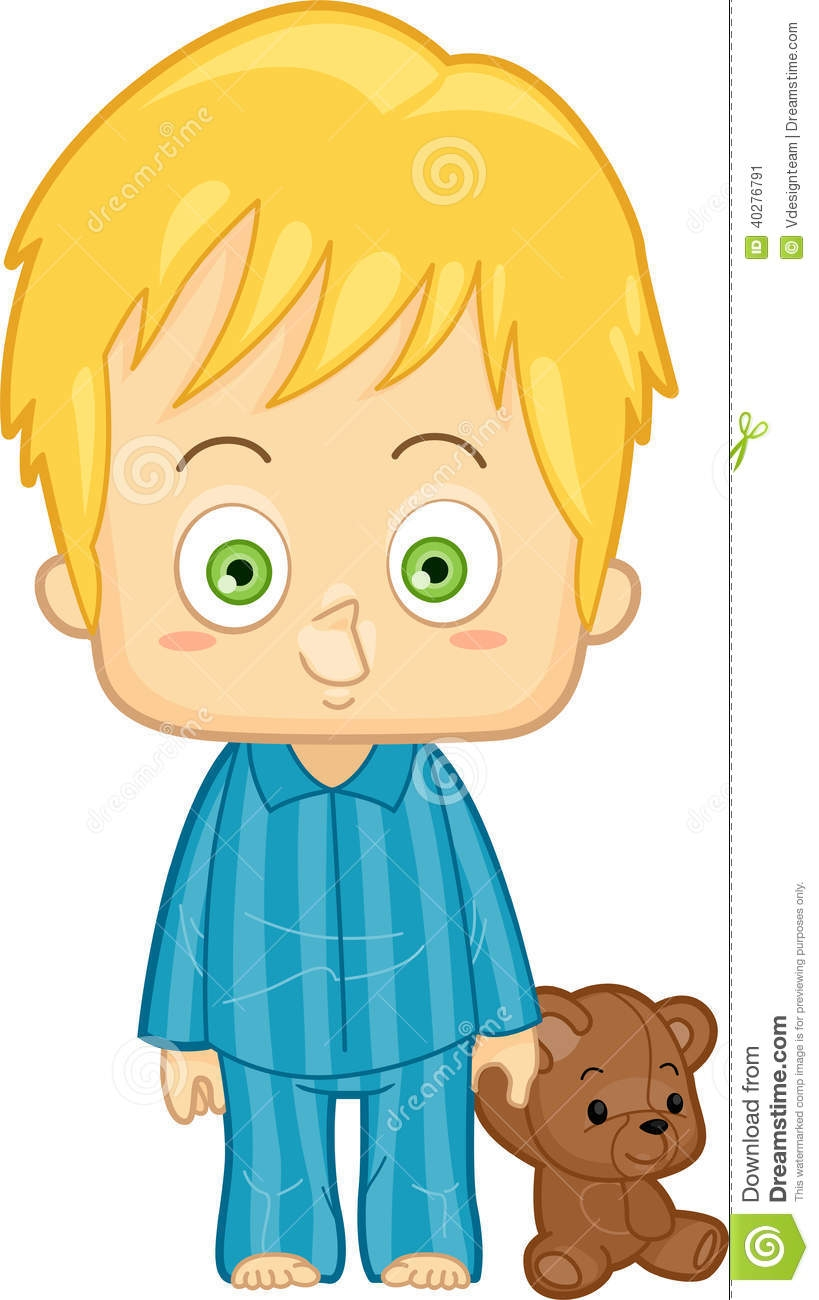 Put On Pajamas Clipart.