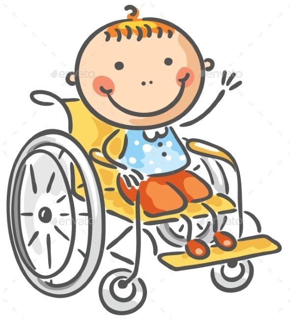 A friendly boy in a wheelchair.