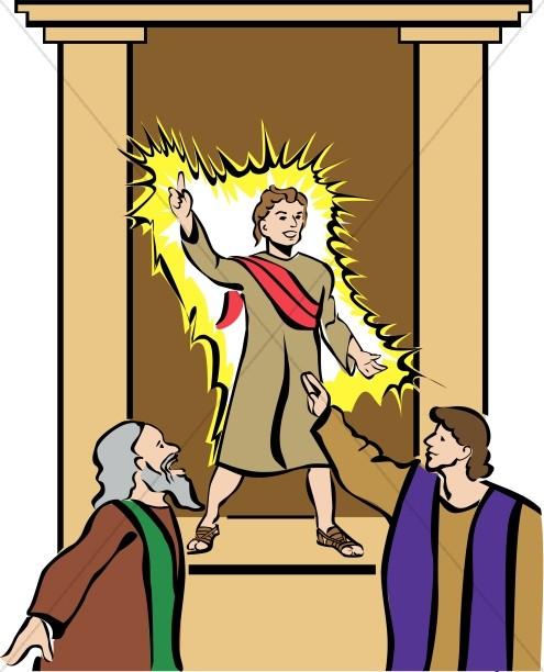 Boy Jesus Teaching.