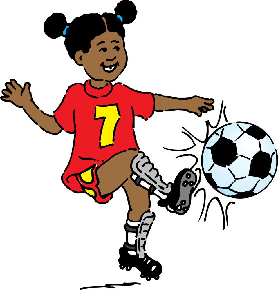 Free Boy Kicking Soccer Ball, Download Free Clip Art, Free.