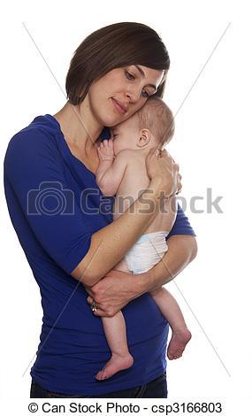 Stock Photos of Mom holding baby boy csp3166803.