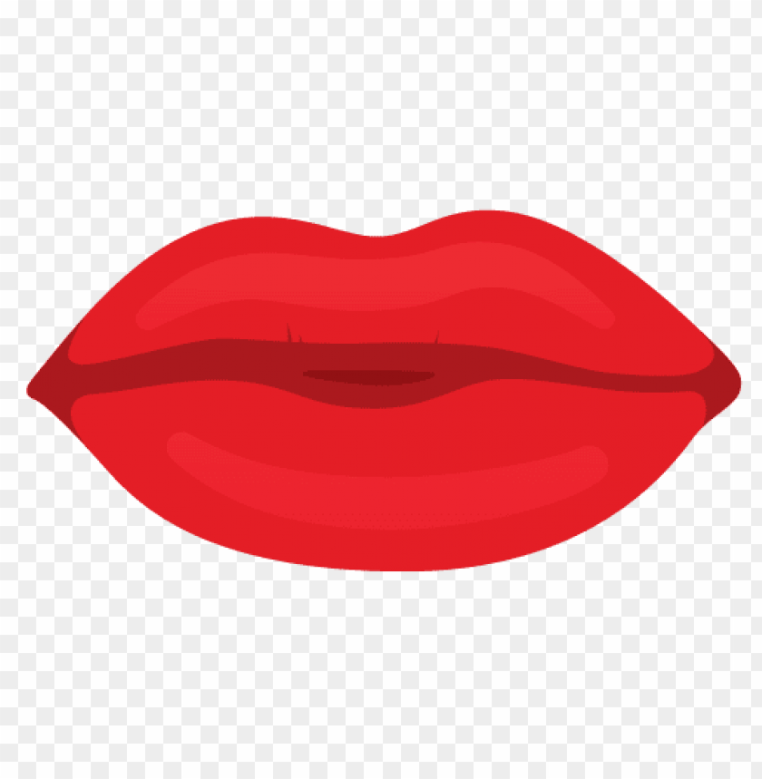 Download cartoon lips red clipart png photo.