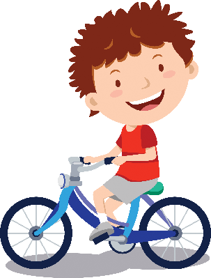 Little Boy Cycling.