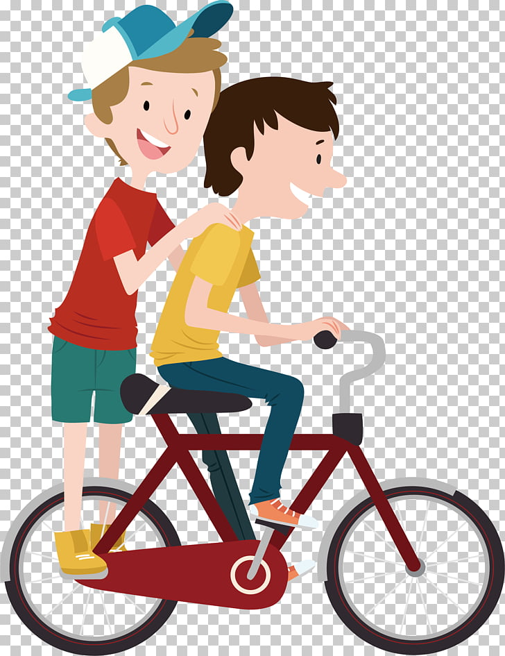 Bicycle Child Cycling, During the period of driving two.