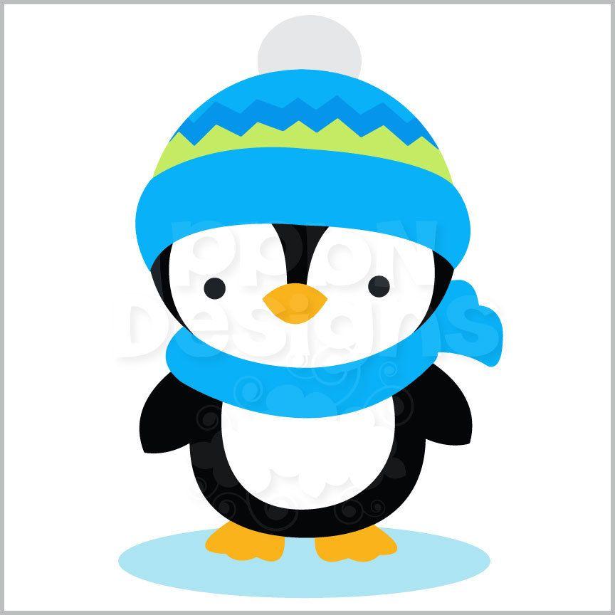 Boy Penguin Clipart & Free Clip Art Images #23012.