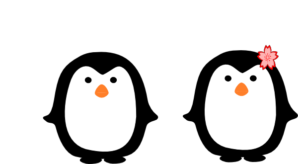 Boy Penguin Clipart.