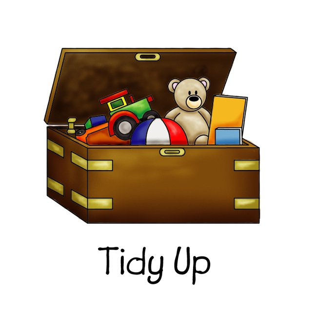 boy picking up toys clipart - Clipground