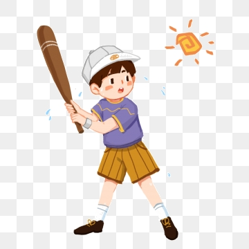Playing Baseball Png, Vector, PSD, and Clipart With Transparent.