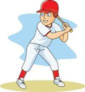 Boy playing baseball clipart » Clipart Portal.