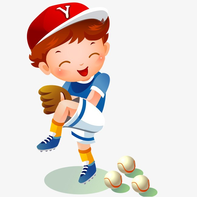 Kids playing baseball clipart 7 » Clipart Portal.
