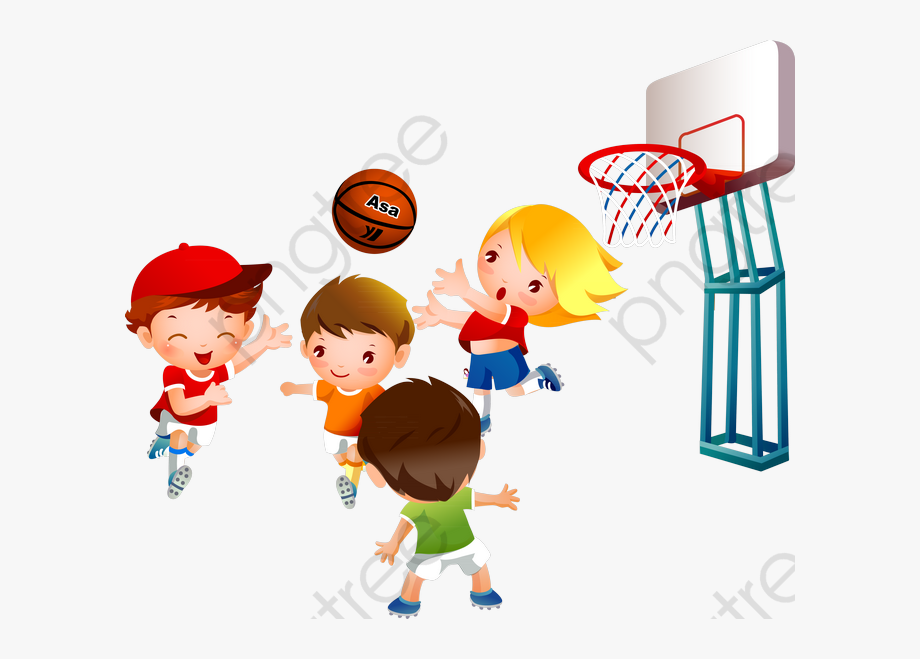 Games Clipart Basketball.