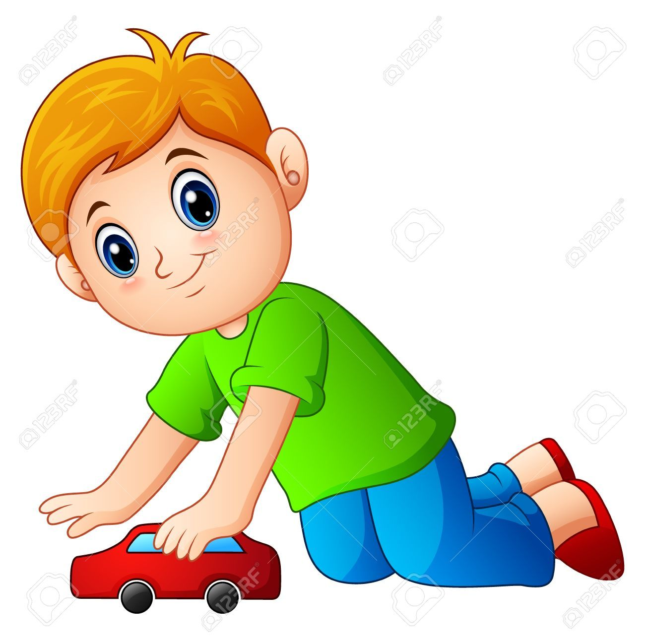 Boy playing with toys clipart 7 » Clipart Portal.