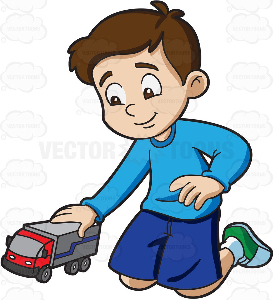 Boy playing clipart 2 » Clipart Station.