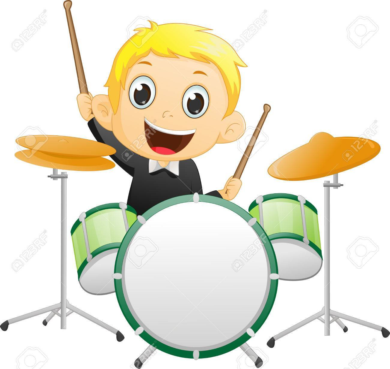 Boy playing drums clipart 7 » Clipart Portal.
