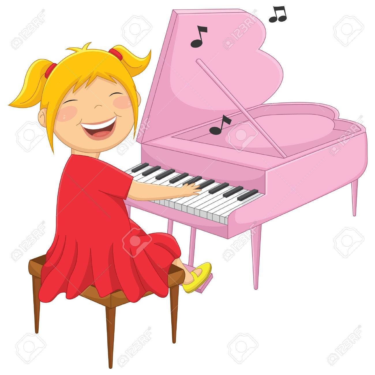 Kids playing piano clipart 7 » Clipart Portal.