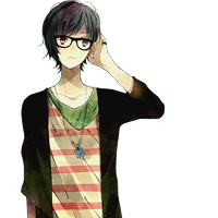 Download Anime Boy Free PNG photo images and clipart.